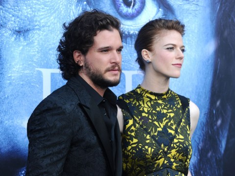 Don't expect that Game of Thrones wedding anytime soon – Kit Harington and Rose Leslie haven't even started planning yet