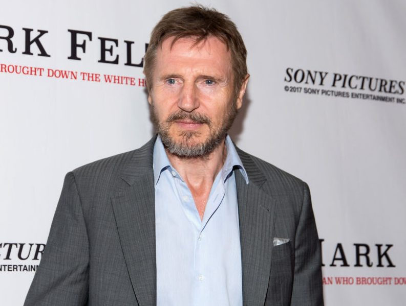 Liam Neeson calls gender pay gap 'disgraceful' – but refuses to take a pay cut
