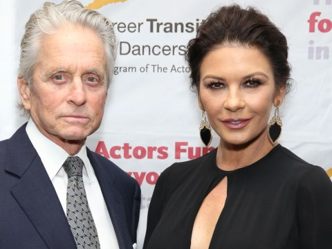 Catherine Zeta-Jones praises husband Michael Douglas for sexual harassment denial