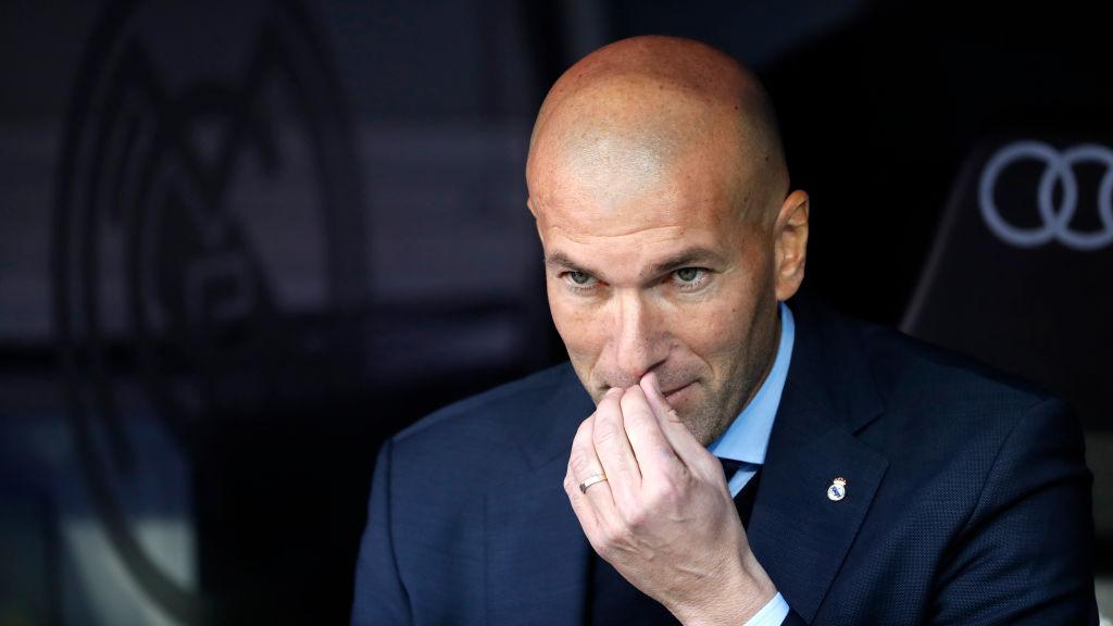 Real Madrid manager Zinedine Zidane eyeing Chelsea pair Eden Hazard and N'Golo Kante