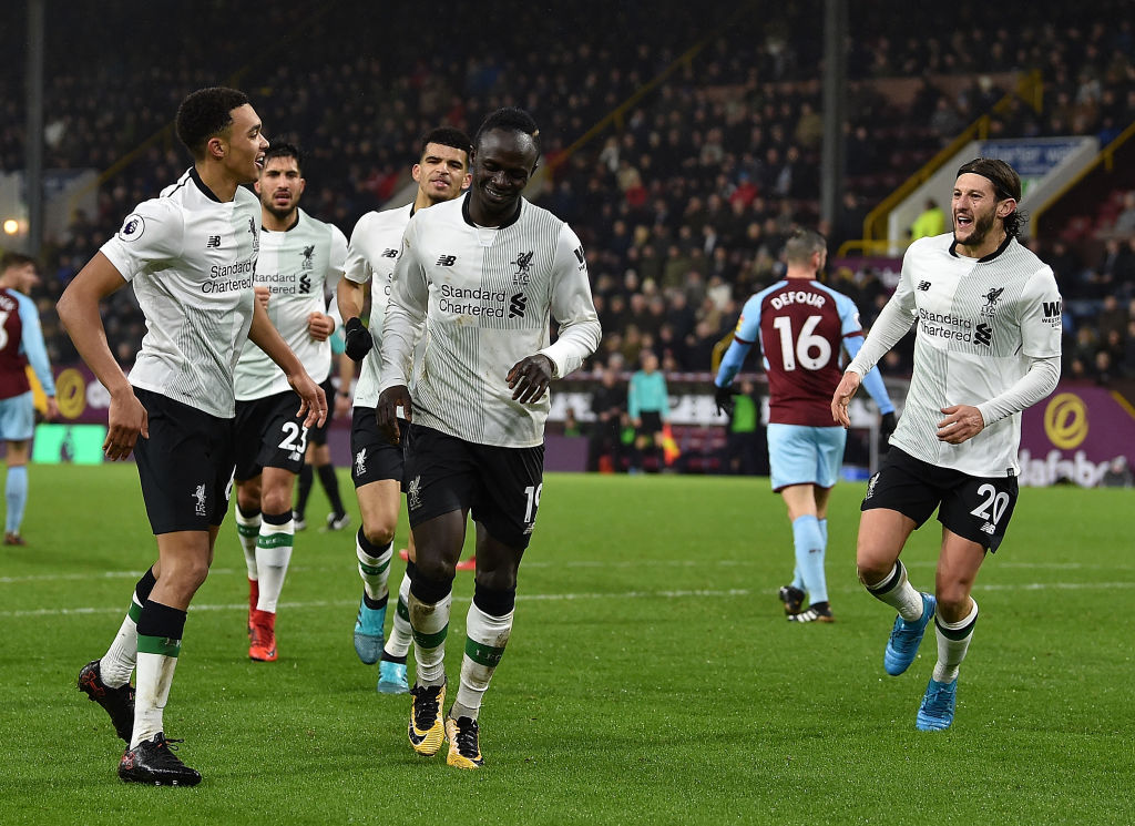 Jurgen Klopp singles out Adam Lallana and Sadio Mane in dramatic Burnley victory