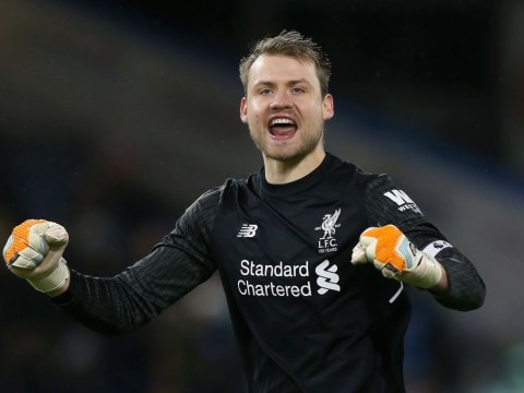 Simon Mignolet reacts as Liverpool draw Manchester City in the Champions League quarter-finals