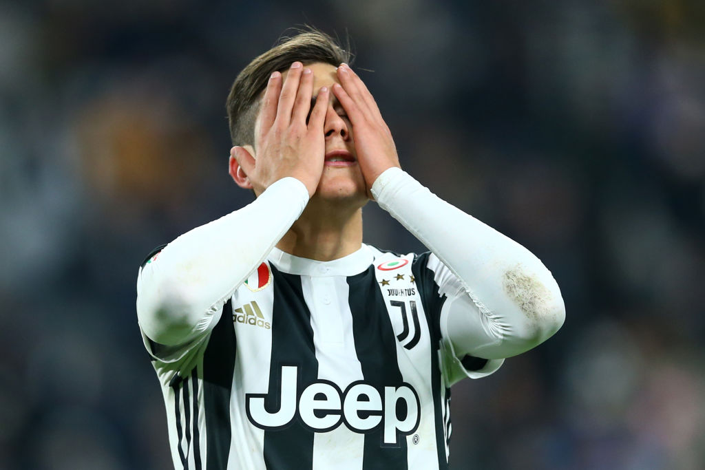 Juventus will make Philippe Coutinho fee benchmark for Paulo Dybala sale