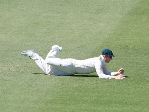 The Ashes: Steve Smith takes incredible one-handed catch to remove England batsman Dawid Malan