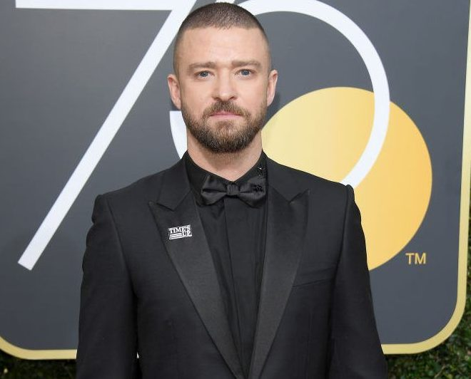 Justin Timberlake at Golden Globes