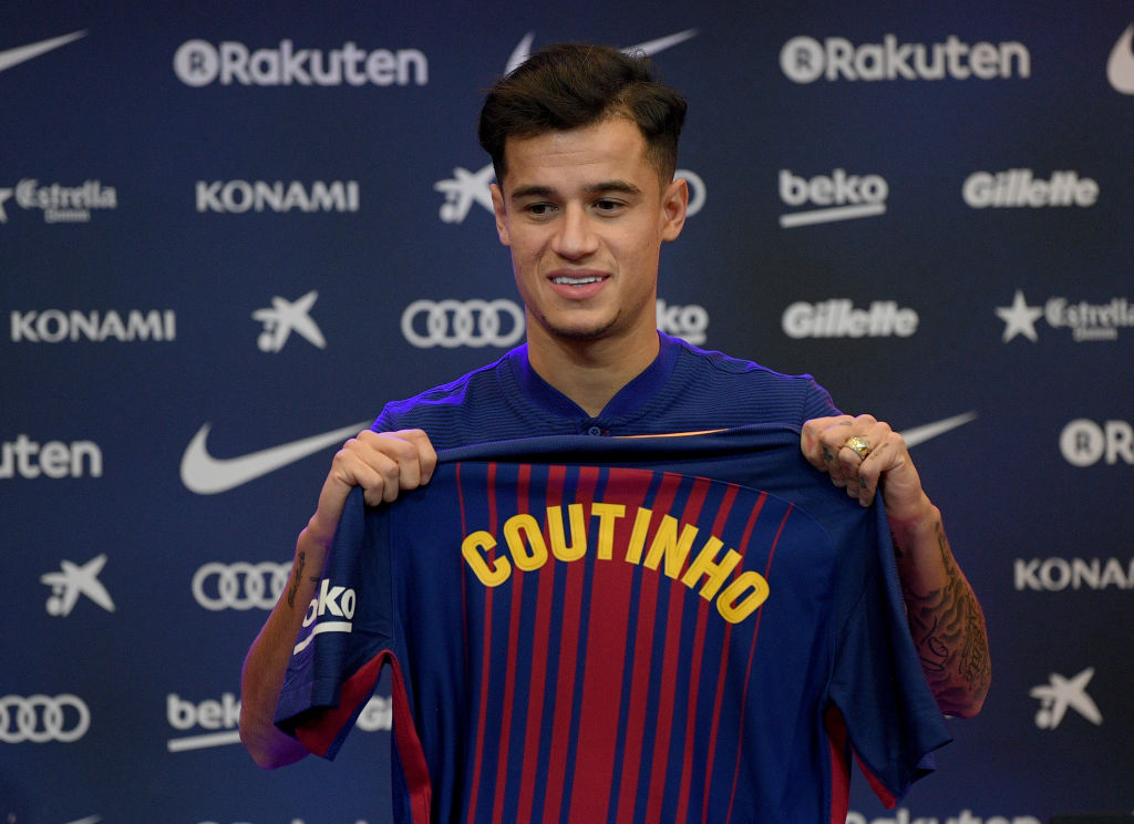 Jurgen Klopp told to replace Philippe Coutinho with Marco Verratti
