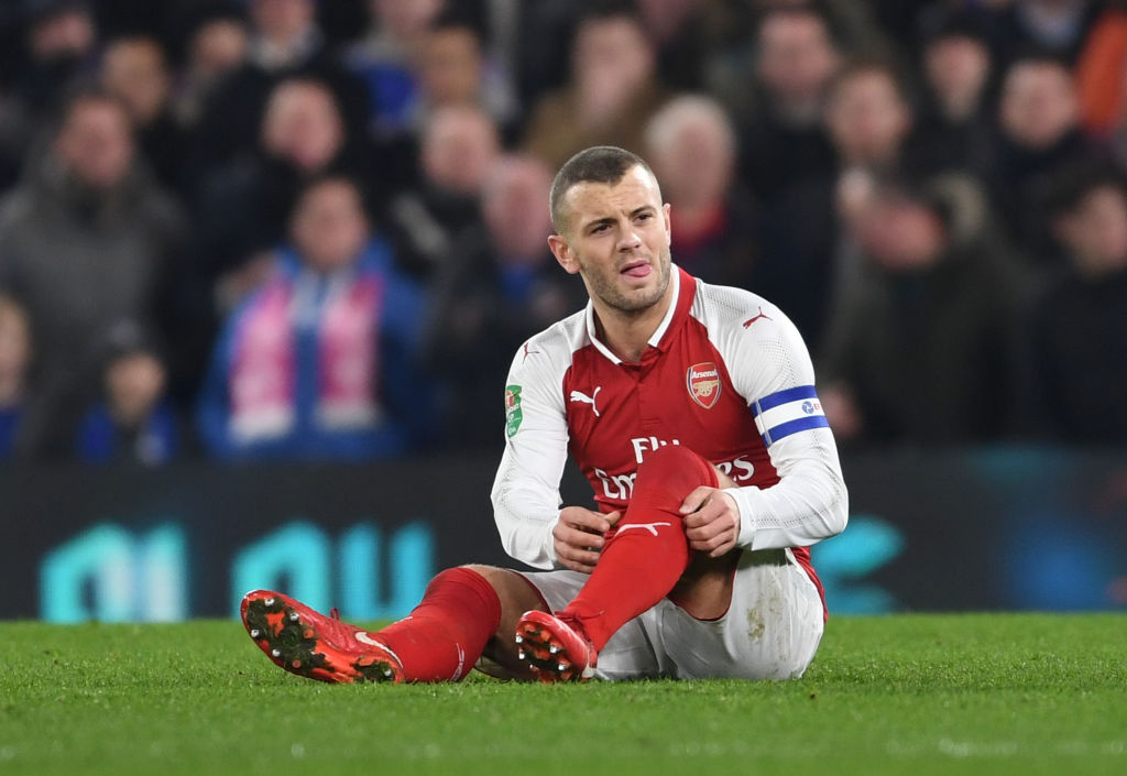 Arsenal star Jack Wilshere speaks out on injury suffered against Chelsea
