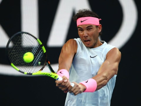Retro Rafael Nadal rolls Victor Estrella Burgos over to reach Australian Open round two