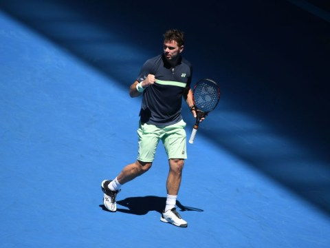 Stan Wawrinka overcomes slow start and knee fears to move into Australian Open second round