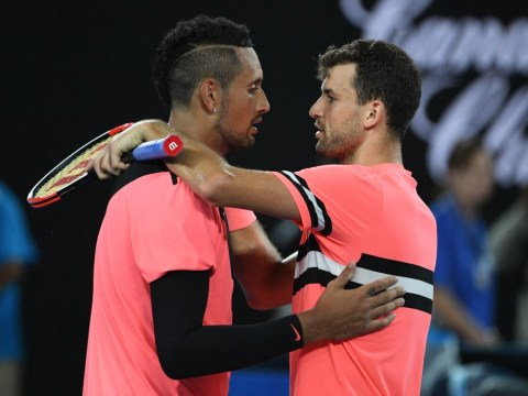 What Nick Kyrgios told Grigor Dimitrov in embrace after Australian Open epic