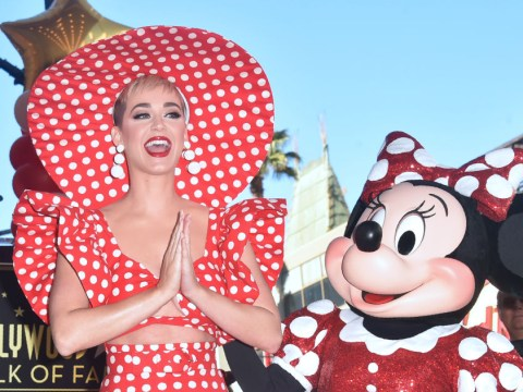 Katy Perry throws major shade as she honours Minnie Mouse with her Walk of Fame star