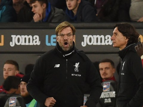 Jurgen Klopp apologises to Swansea fan after bust-up during Liverpool defeat