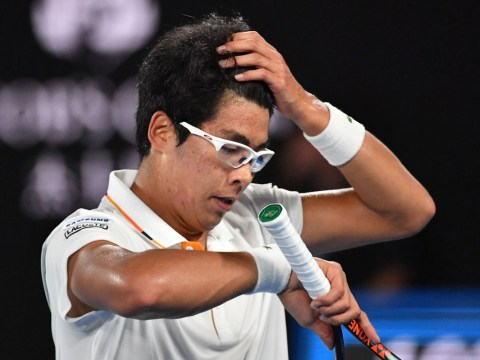 Hyeon Chung reveals just how bad blister was against Roger Federer after Australian Open exit