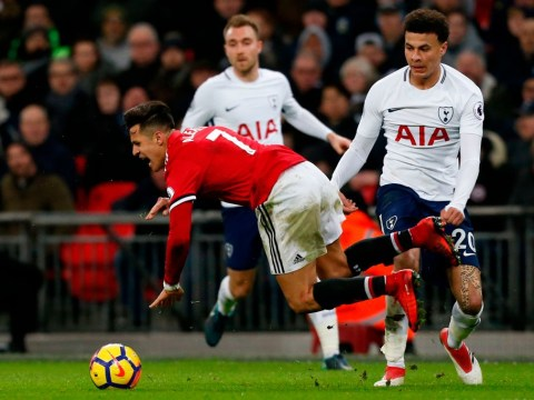 Arsenal fans praise Tottenham rival Dele Alli for late tackle on Manchester United new-boy Alexis Sanchez