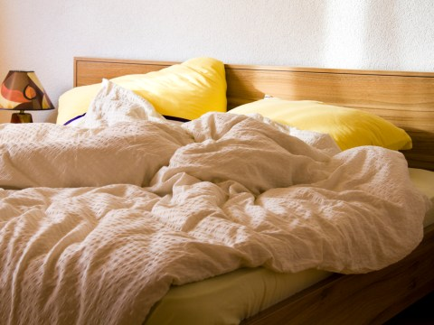 Almost a quarter of Brits only change their bed sheets once a month