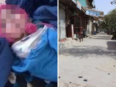 Taliban fighters hide bomb in baby girl's clothing in bid to attack city