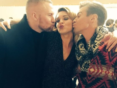 Candice Brown responds to accusations she 'snogged' Dancing On Ice partner Matt Evers
