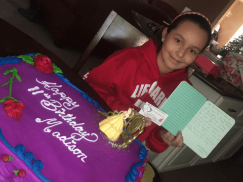 Every year this mum buys a birthday cake for a random kid to honour her late daughter
