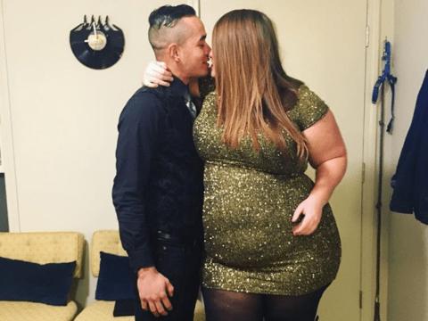 Body positivity activist shuts down trolls who say she doesn't deserve her boyfriend