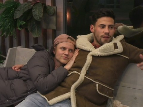 CBB housemates warn Courtney Act and Andrew Brady not to 'hurt' one another as pair grow closer