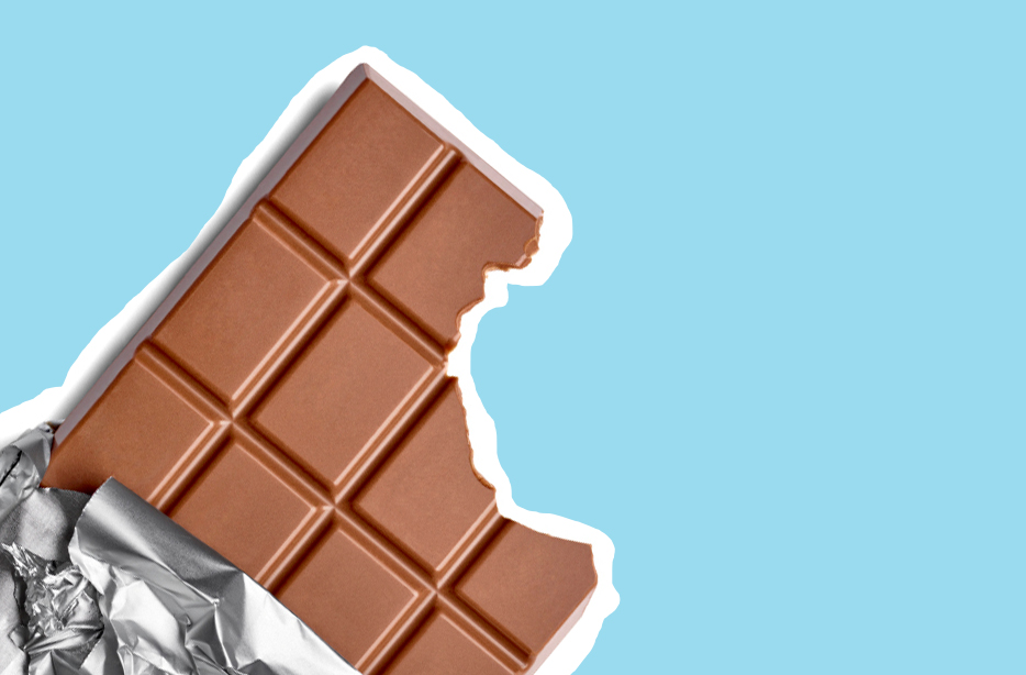 Go ahead and put your chocolate in the fridge if you want to