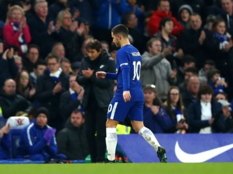 Antonio Conte explains why he will continue substituting Eden Hazard this season