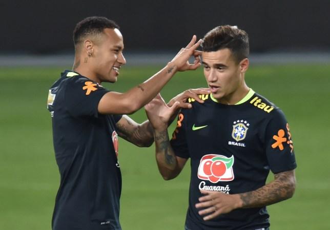 Image result for coutinho Neymar