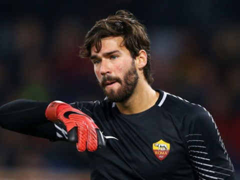 Roma set asking price for Alisson as Liverpool line up summer transfer