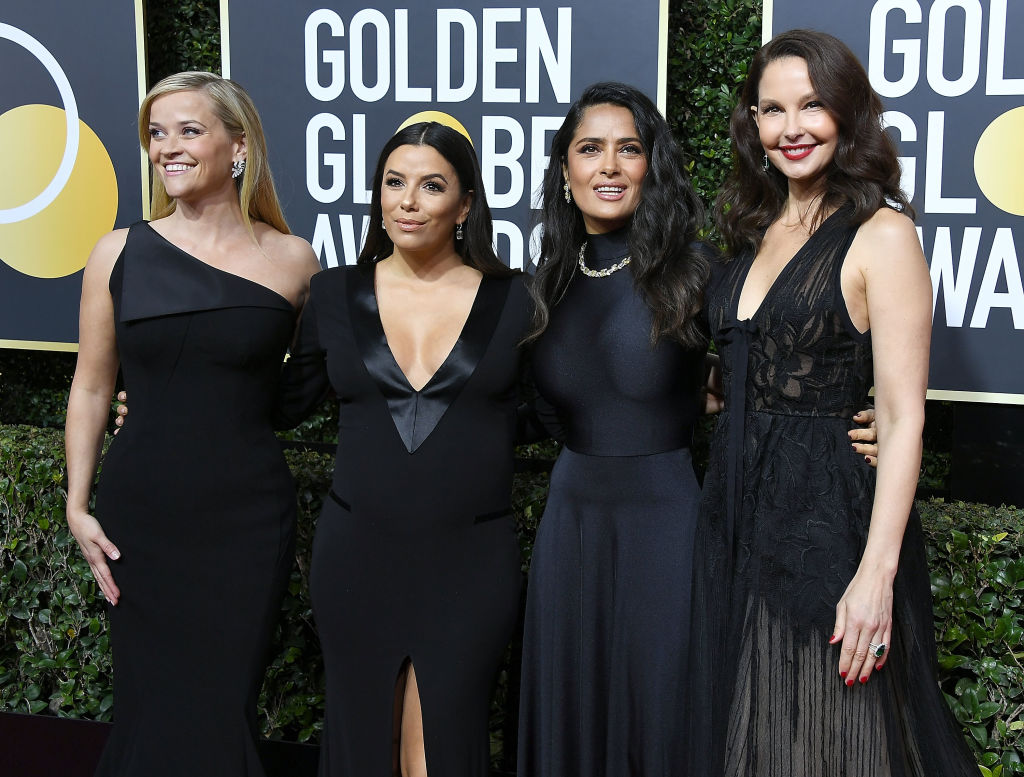 Black dresses celebs wore to the Golden Globes are being auctioned off to raise money for Time's Up
