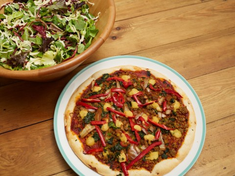 Goodfella's is launching the UK's first ever mainstream vegan frozen pizza
