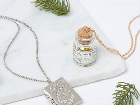 Harry Potter inspired necklaces are here and they're wonderful