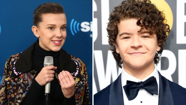 Gaten Matarazzo and Millie Bobby Brown are friendship goals as she opens up about shaving her head