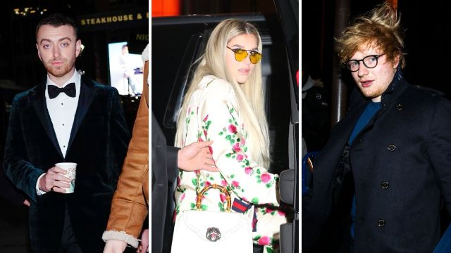 Stars from Kesha to Ed Sheeran flock to New York for Elton John tribute concert as he quits touring