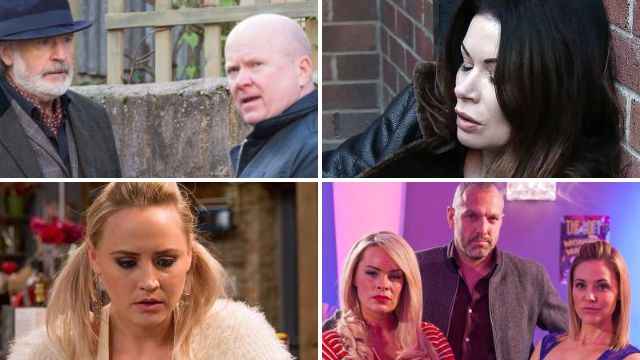 Soap spoilers for Phil and Aidan in EastEnders, Carla in Coronation Street, Tracy in Emmerdale and Glenn, Cindy and Grace in Hollyoaks
