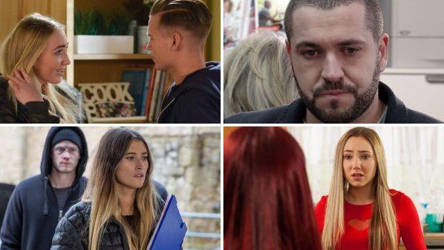 25 soap spoilers: Coronation Street Phelan fury, Emmerdale Ross acid attack, EastEnders Stacey revenge, Hollyoaks Goldie return