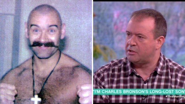 Charles Bronson's long-lost son says UK's most notorious criminal should be released