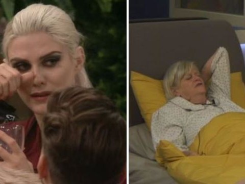 Celebrity Big Brother: Ashley James reduced to tears after chaotic fall out with 'rude' Ann Widdecombe