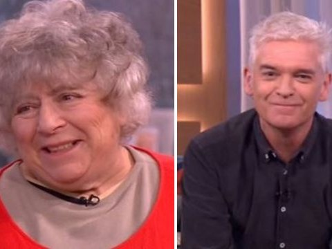 Phillip Schofield accused of taking drugs by Miriam Margolyes on This Morning