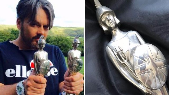 Paul Cattermole is waiving the postage fee on his Brit Award now that eBay bids have reached £66k