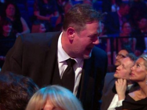 Johnny Vegas clarifies swear-filled 'barney' after Peter Kay's Car Share win at NTAs 2018