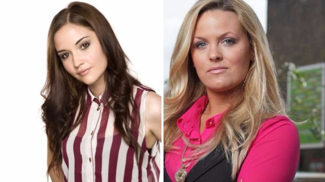 Jacqueline Jossa as Lauren and Jo Joyner as Tanya