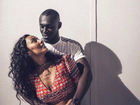 Stormzy shouts out his 'beautiful Mrs' Maya Jama on social media for their three-year anniversary