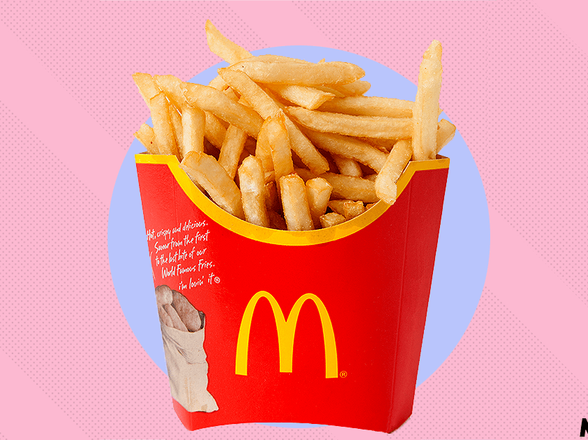 McDonald's Japan sends an unexpectedly body-positive message with some fries