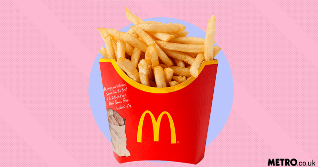 Why women are eating McDonald's fries after sex picture: REX Features