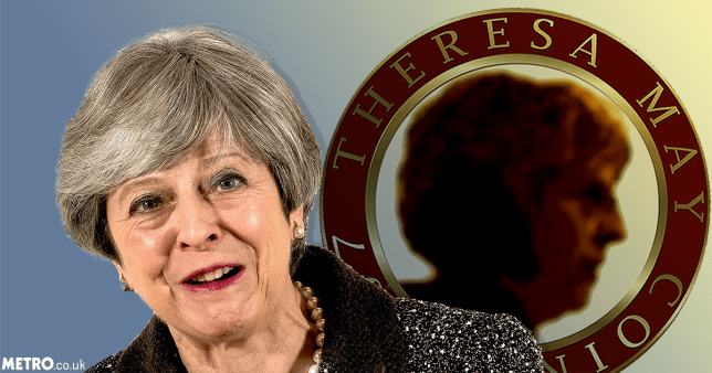 The new cryptocurrency TheresaMayCoin doesn't look like a strong and stable investment