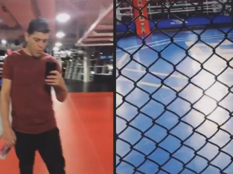 Nick Diaz sparks return rumours after taking induction tour at UFC Performance Institute