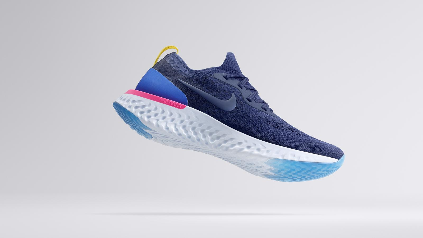 Nike unveil new Epic React Flyknit in hope to seriously dominate the running game