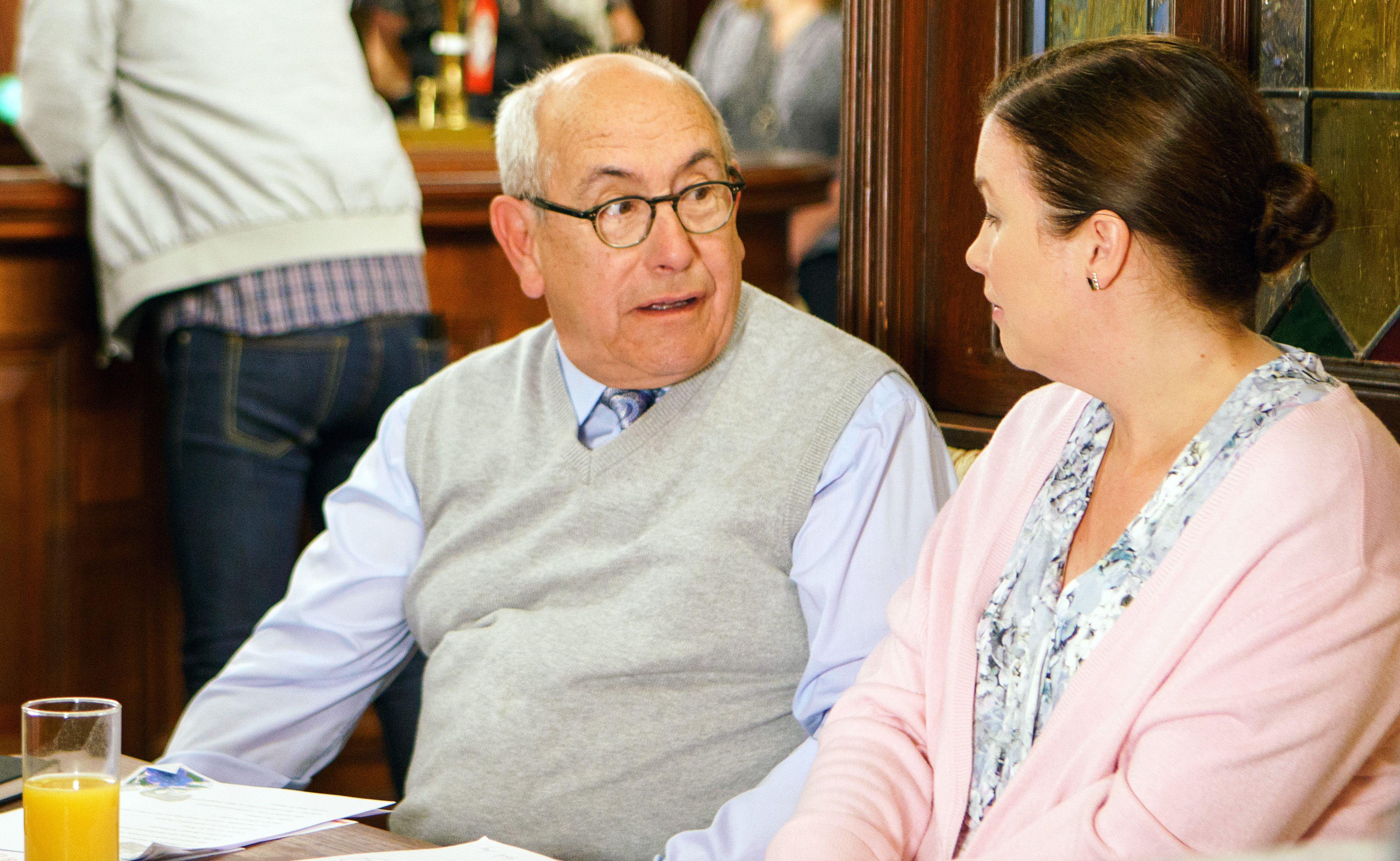 Malcolm Hebden plays Norris in Coronation Street