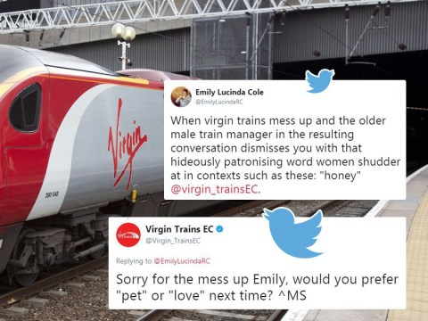 Virgin Trains respond to complaint about sexism by being even more sexist