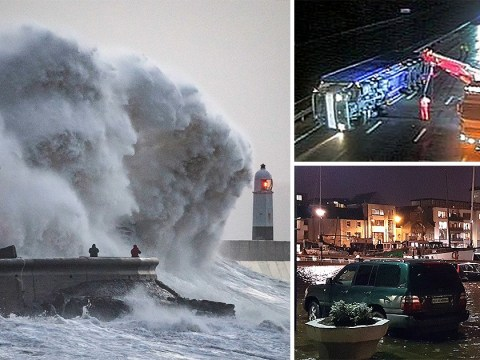 Storm Eleanor smashes into UK with 100mph winds leaving thousands without power